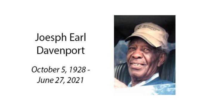 Joesph Earl Davenport
