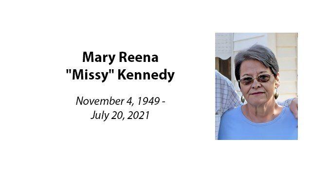 Mary Reena 'Missy' Kennedy