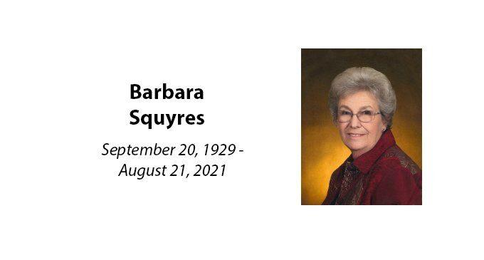 Barbara Squyres