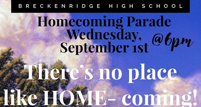BHS Homecoming activities planned for next week