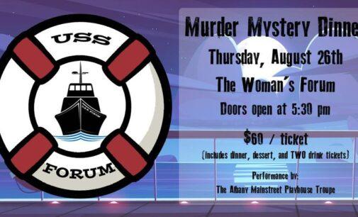 Breckenridge Woman's Forum to host Murder Mystery Dinner on Thursday, Aug. 26