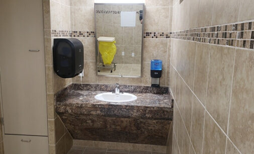 Stephens Memorial Hospital creates new shower room to help prevent patient falls