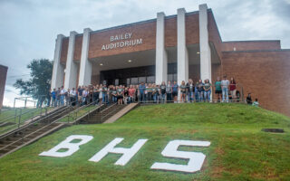 BHS Class of 2022 Senior Walk-in with Parents