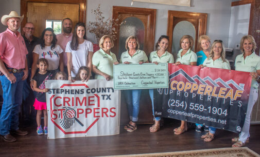 Charity golf tournament raises $14,000 for local Crime Stoppers rewards
