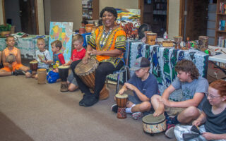 African Safari Program at the Breckenridge Library