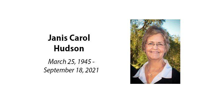Janis Carol Hudson