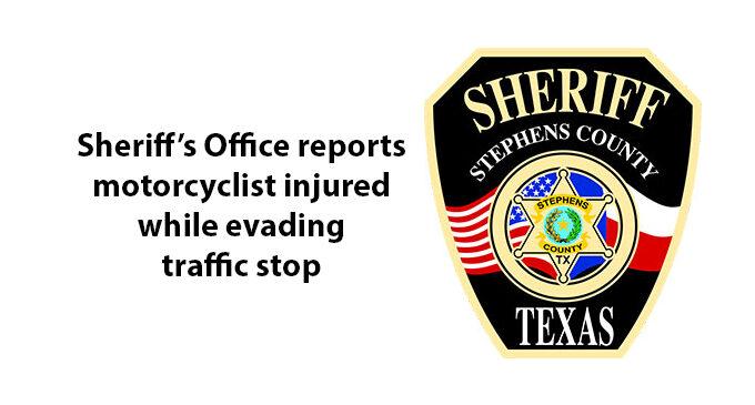 Sheriff: Breckenridge motorcyclist injured in crash while fleeing deputy