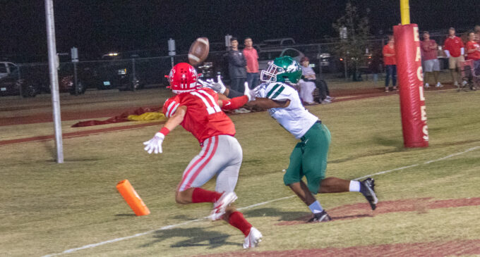Breckenridge Buckaroos fall to 1-4 after Friday night's loss to Holliday Eagles, 34-12