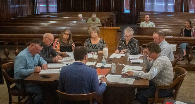 County commissioners approve 2021 tax rate, 2022 budget