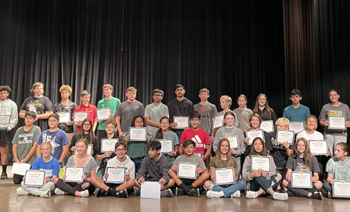 Breckenridge Junior High announces honor roll for first six weeks