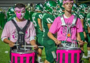2021 Pink Out night, Buckaroos vs Hawks