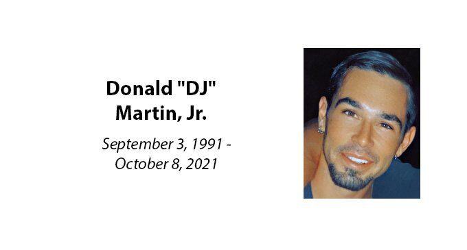 """Donald """"DJ"""" Martin, Jr."""