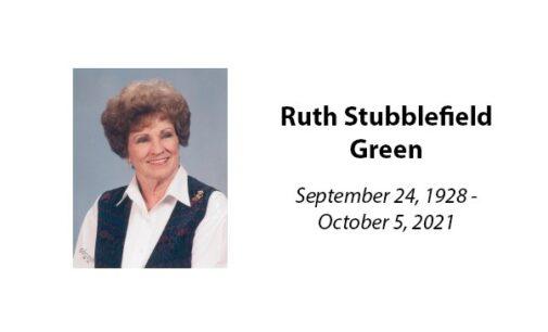 Ruth Stubblefield Green