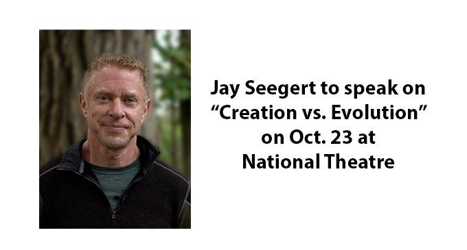 St. Andrews to sponsor 'Creation vs Evolution' presentation on Oct. 23