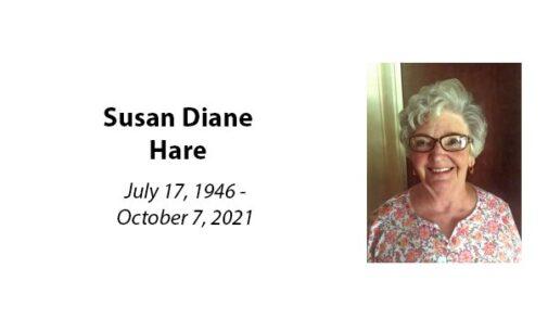 Susan Diane Hare