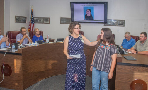 Breckenridge school board honors students of the month