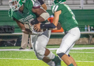 Buckaroos win first district game against Clyde Bulldogs